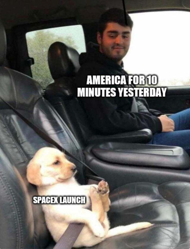 Spacex launch - meme