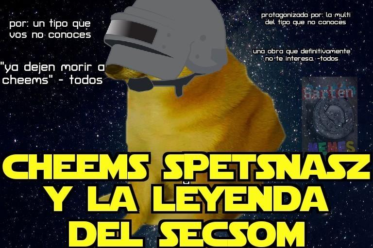 Tal vez podría hacer memes de la historia de cheems spetsnasz buscando hacer realidad la leyenda del secsom, pero solo si quieren