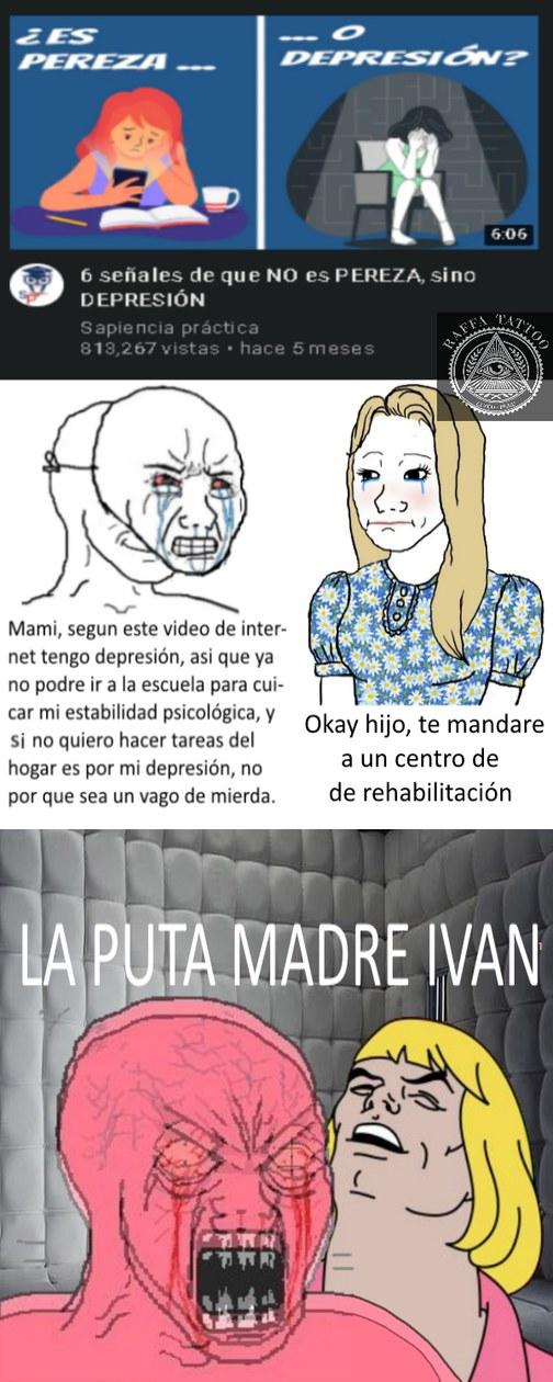 La puta madre Iván, pero que trolazo! - meme