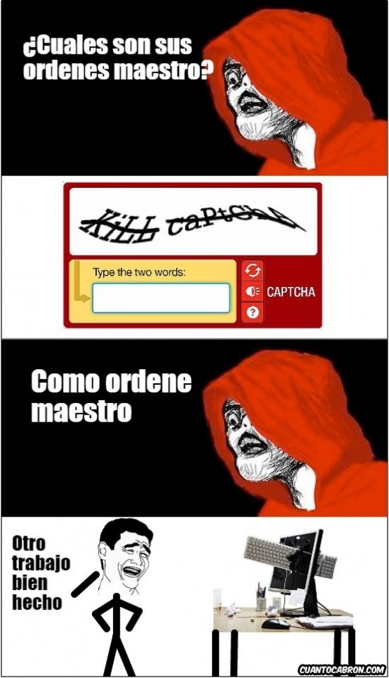 Captcha - meme
