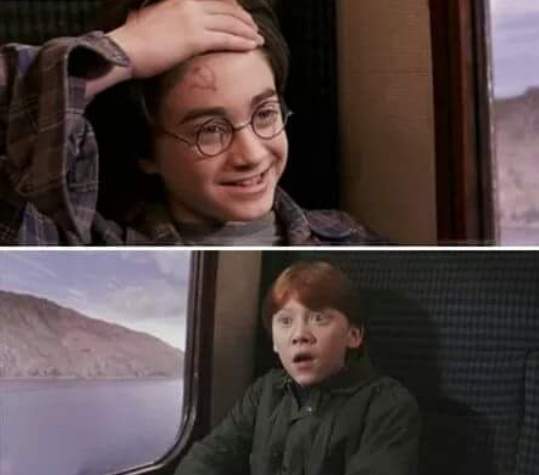 Harry vc é do djiabo - meme