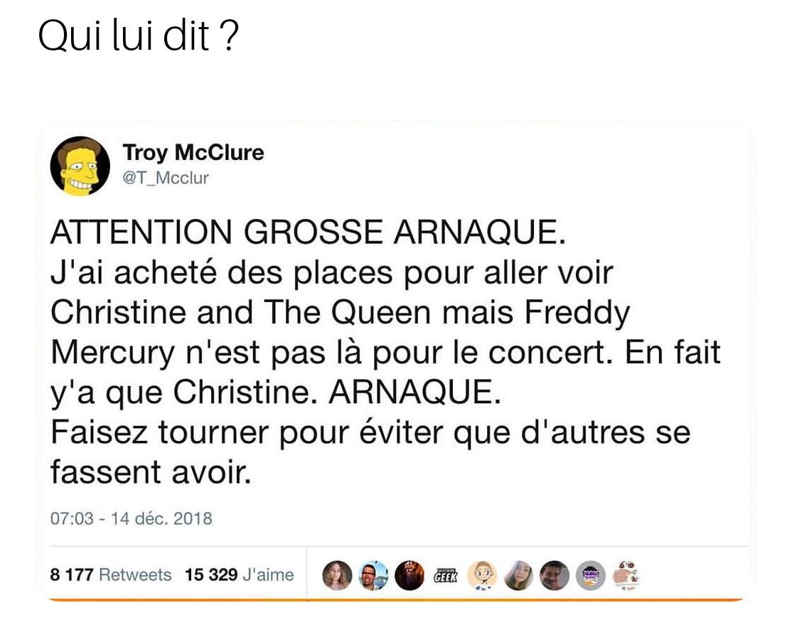 Hommage à Freddie Mercury - meme