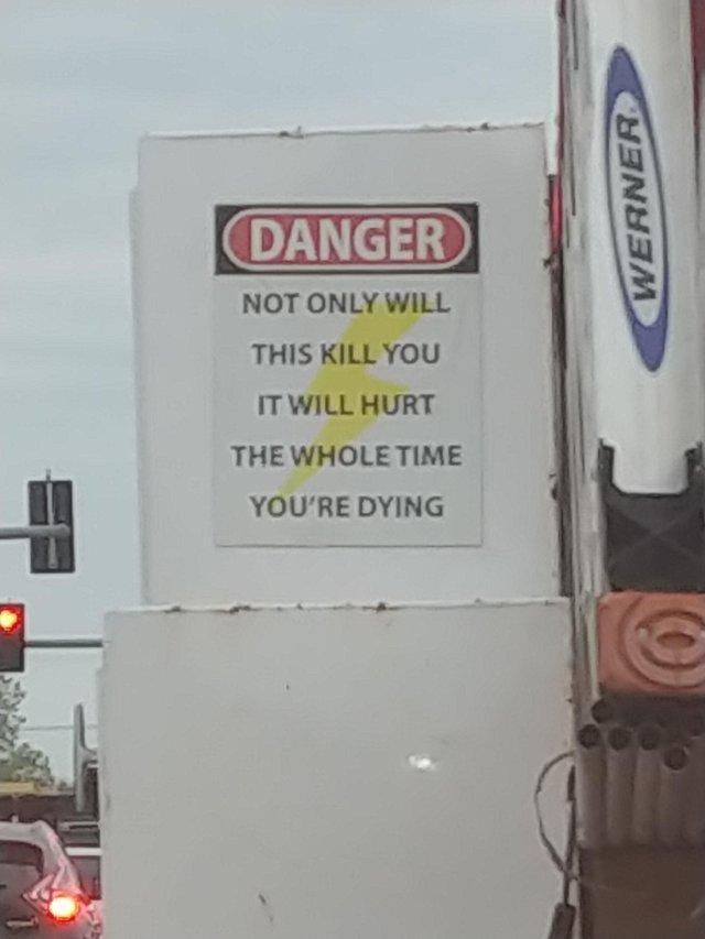 Electrical Danger - meme