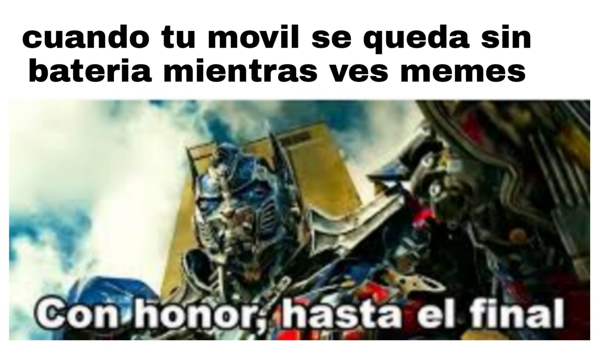 Optimus prime - meme