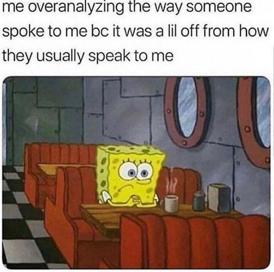 I heard them stutter... - meme