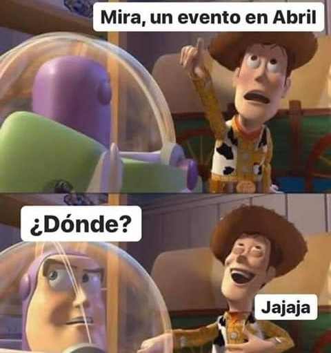 Abril - meme