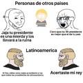 Originalmente solamente iva a ser Venezuela pero toda latinoamerica está en la mierda