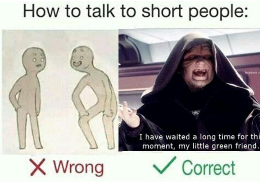 How tall y'all - meme