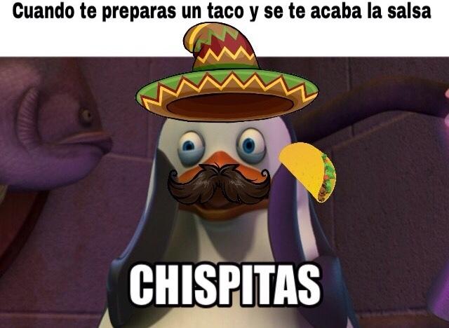 la salsa no >:v - meme