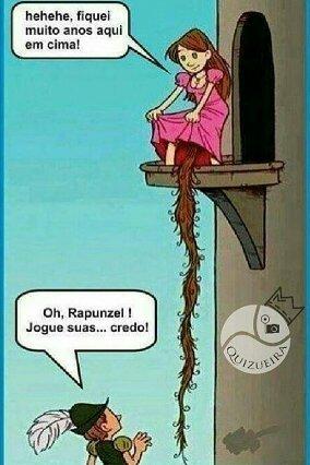Rapunzel, Rapunzel, jogue suas... :ohgodwhy: - meme