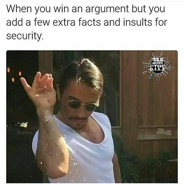 salty - meme