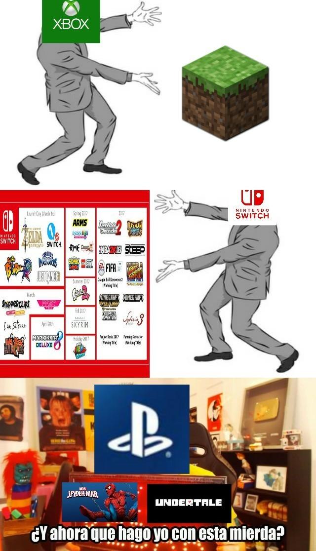 La E3 resumida. - meme
