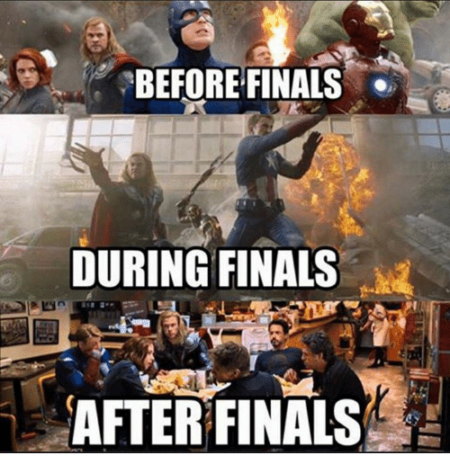 what finals are - meme