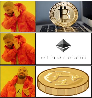 Título foi investir em criptomoedas club penguin - meme