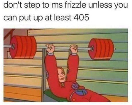ms frizzle thic - meme