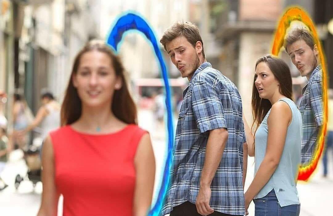 C'est mieux comme ça - meme