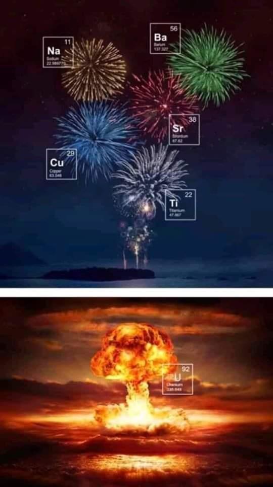 The joy of chemistry - meme