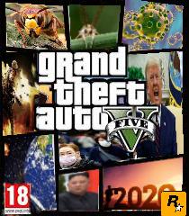GTA versión 2020 - meme