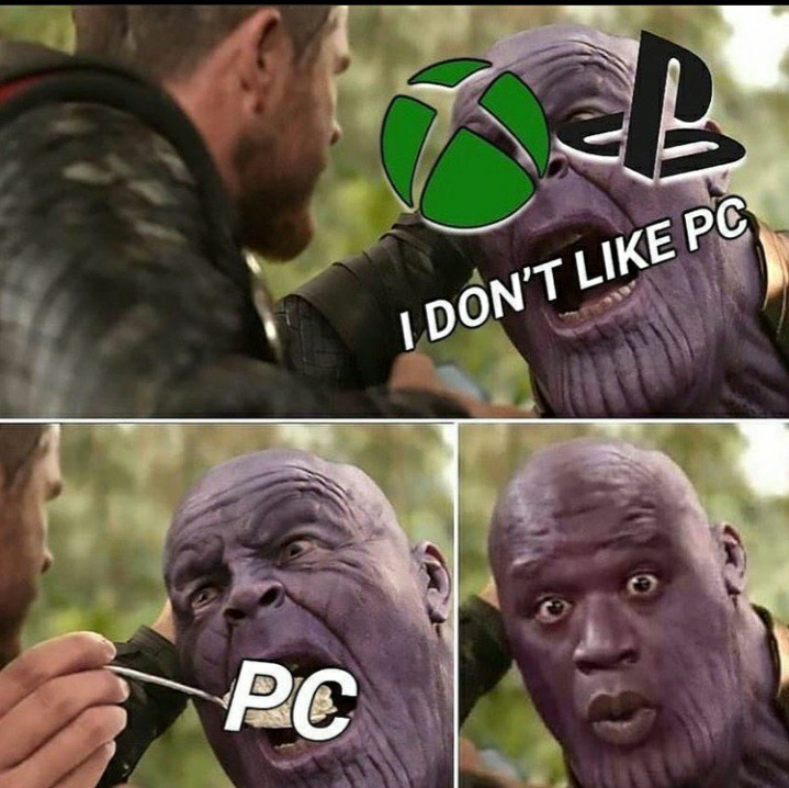 tout le monde fini par aimer le PC - meme