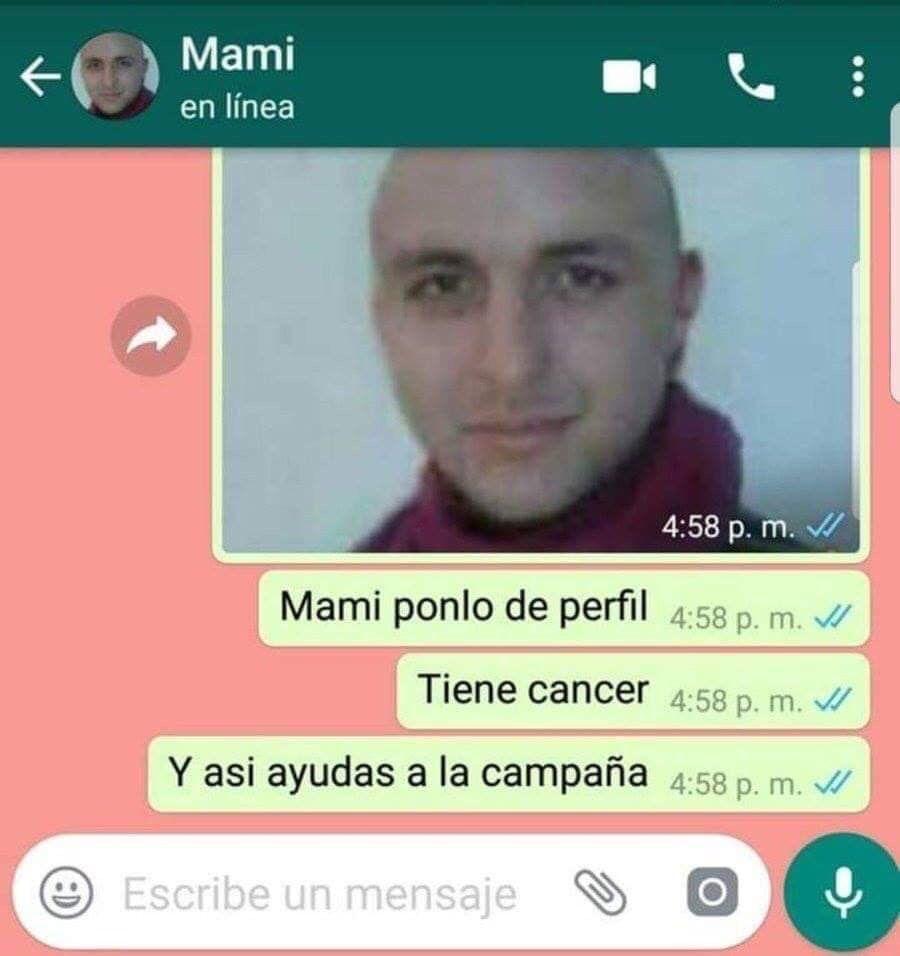 Pobrsito tiene cancer - meme