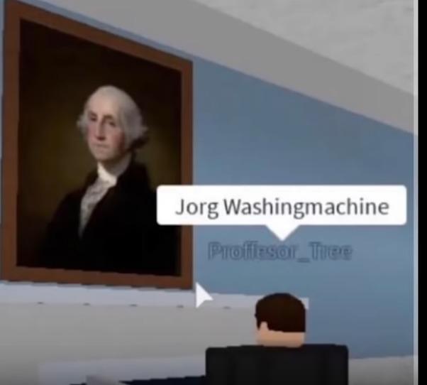 Jorg Washingmachine - meme