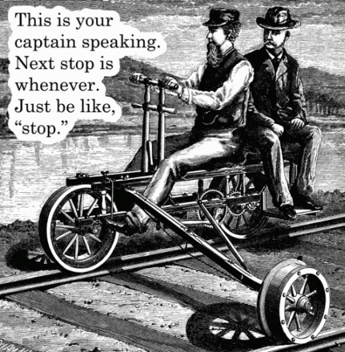 trains - meme