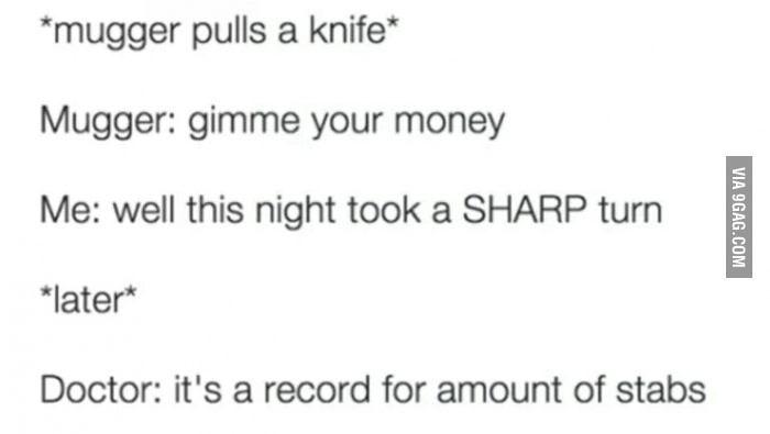 What a knife meme