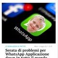Per il down di ieri di whatsapp cito voi piccoli superstiti di questa app in declino