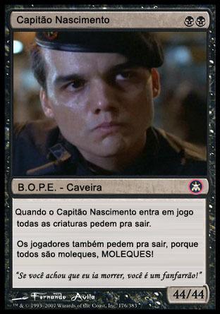 INVOCO CAPITÃO NASCIMENTO EM MODO DE ATK - meme