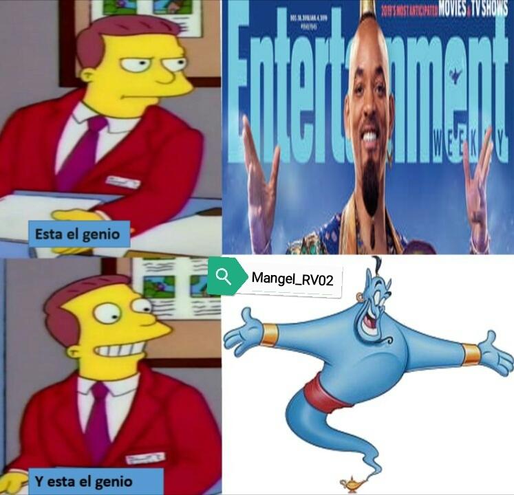 No me gusta nada ese genio de Will Smith - meme