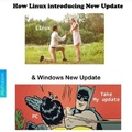 update window linux