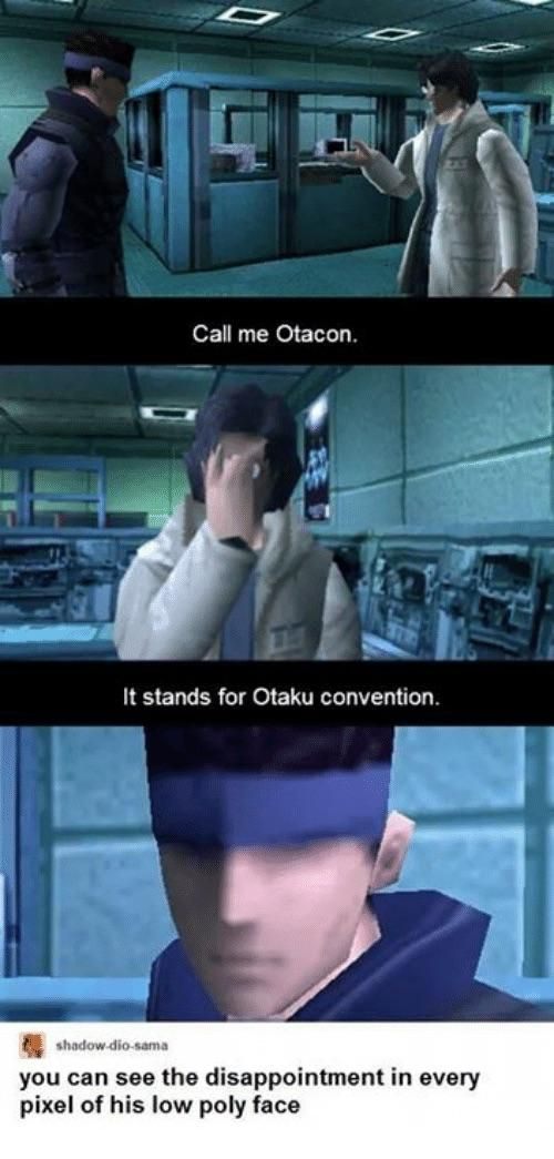 Otacon - meme