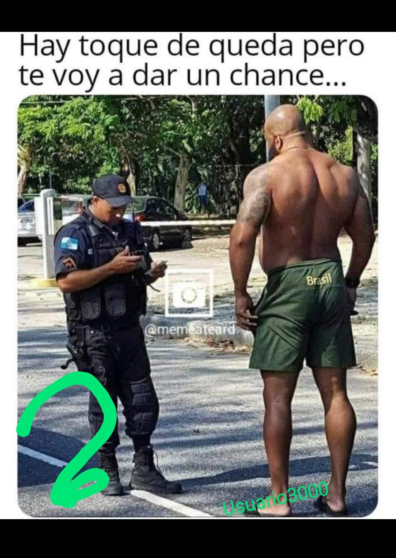 Gracias police - meme