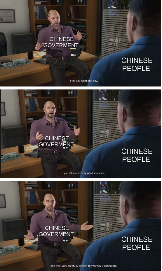 Chinese goverment - meme