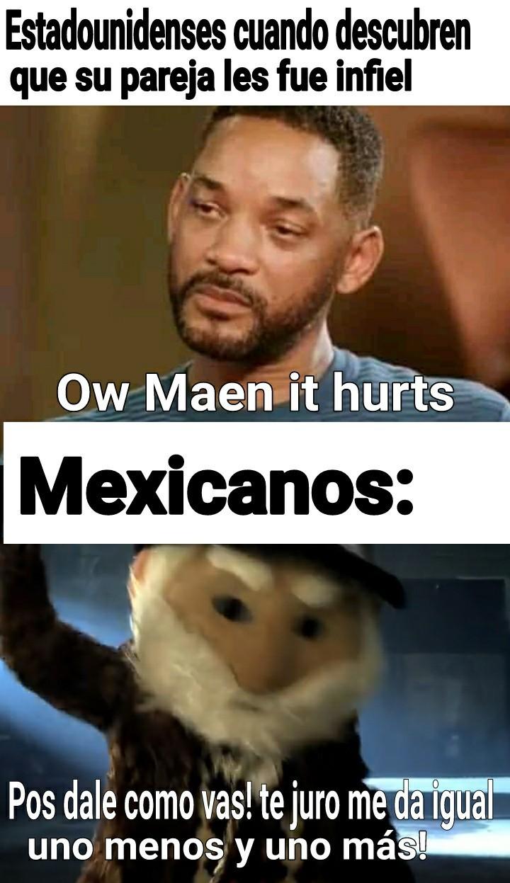 Mesicanos - meme