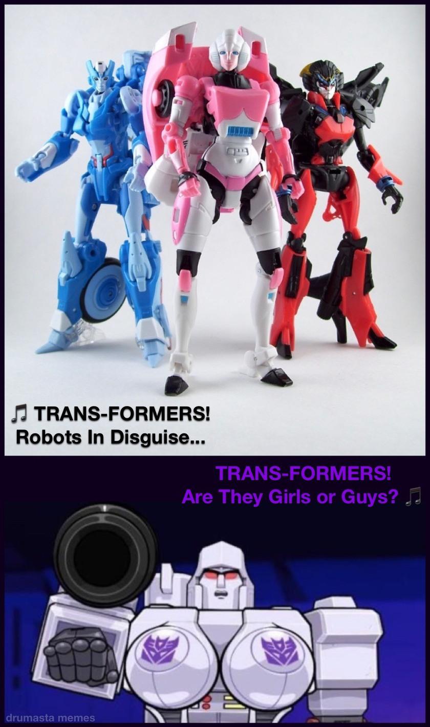 TRANS-FORMERS - meme