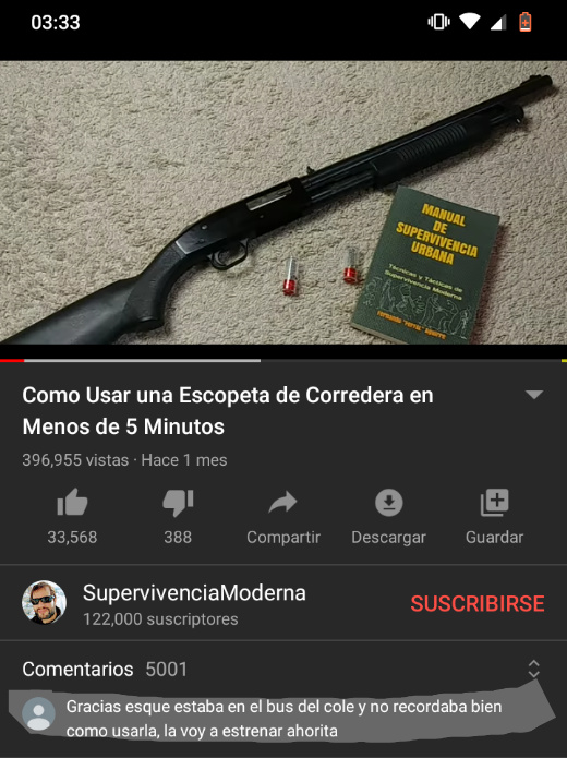 Gracias SupervivenciaModerna - meme