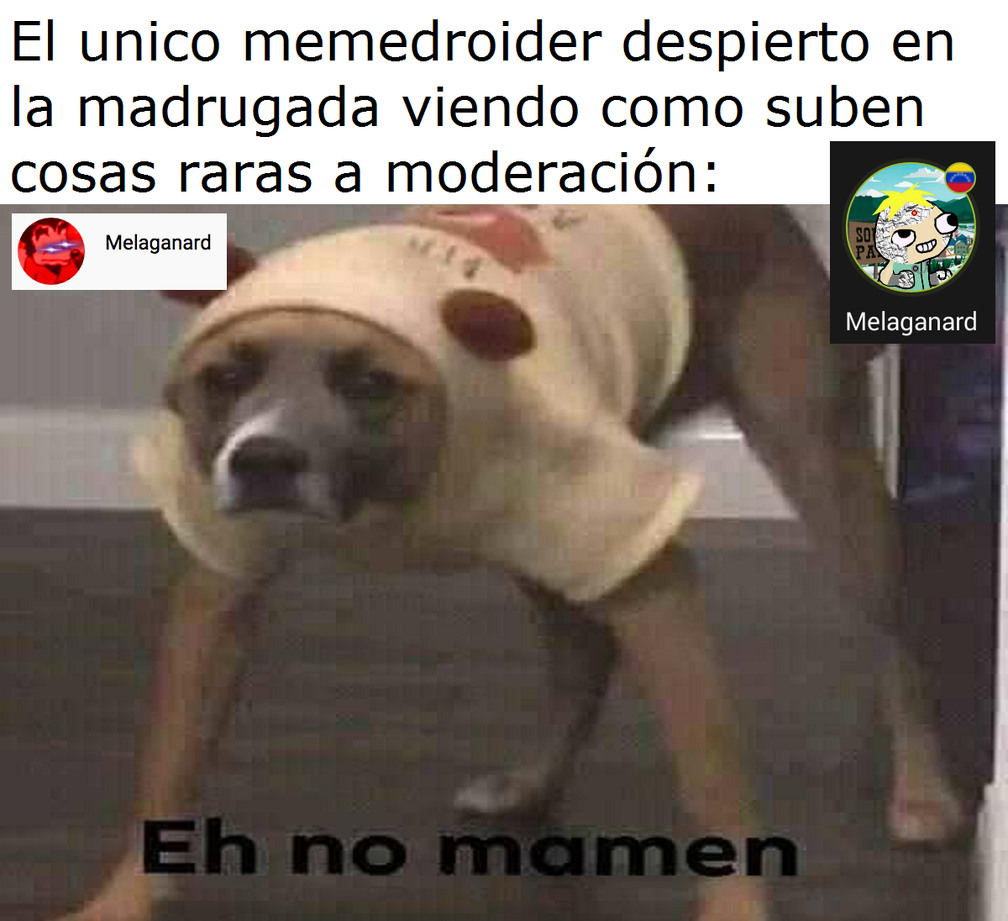 Eh no mamen - meme