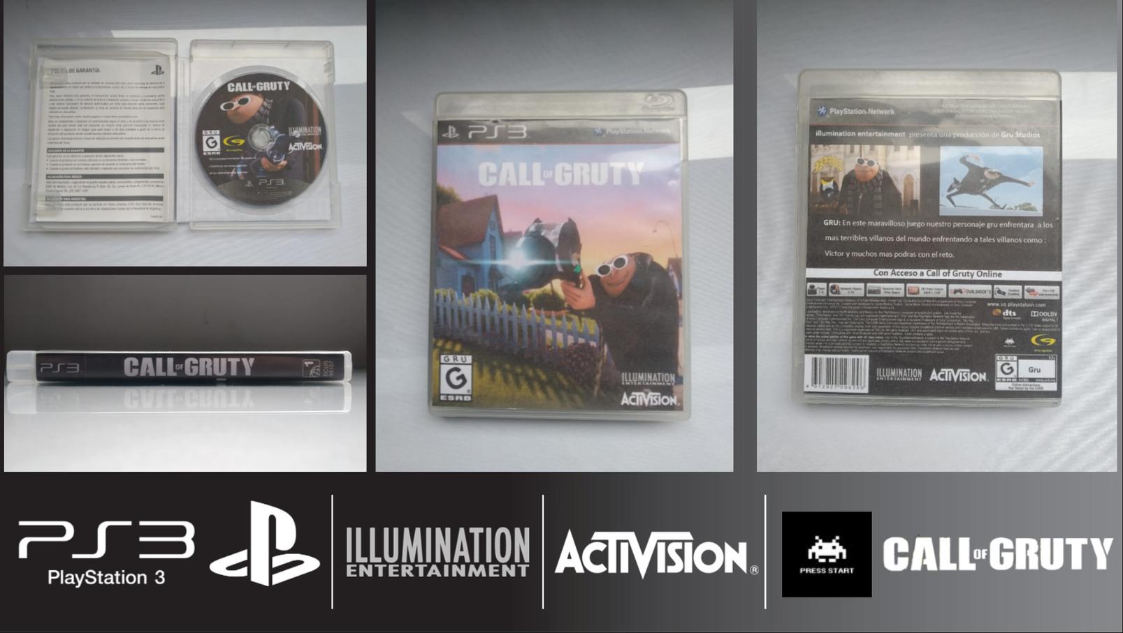 Call of Gruty PS3 Juego completo - meme