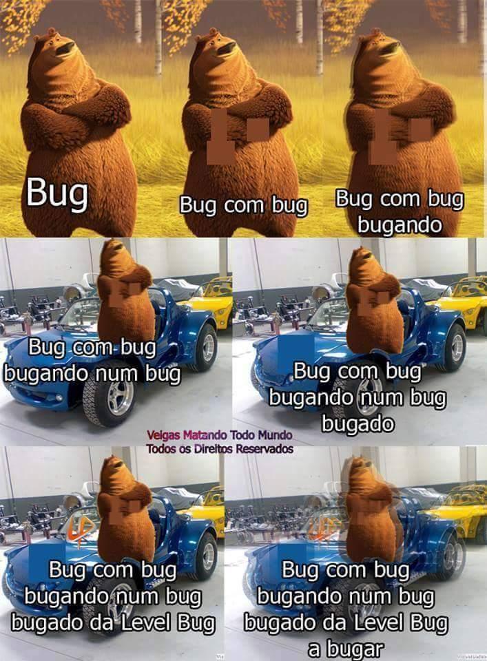 Bug bugagado - meme