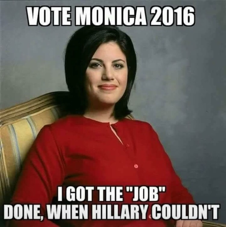 Monica 2016 - meme