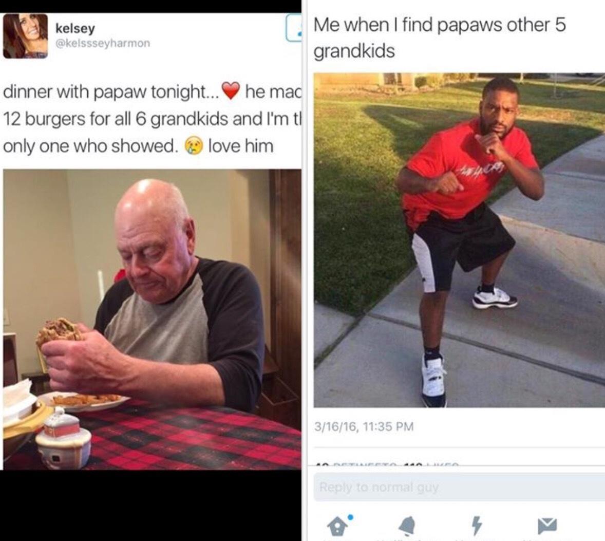 whoop them grandkids - meme