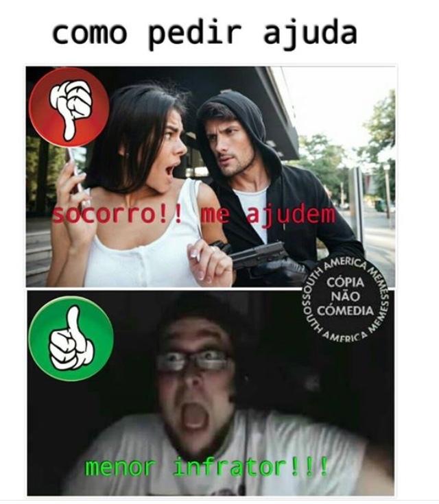 MENOR INFRATOR - meme