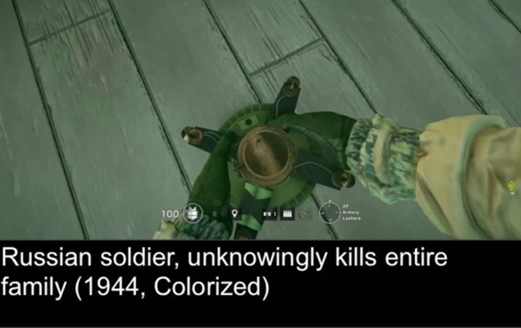 fuse is a hostage killer. - meme