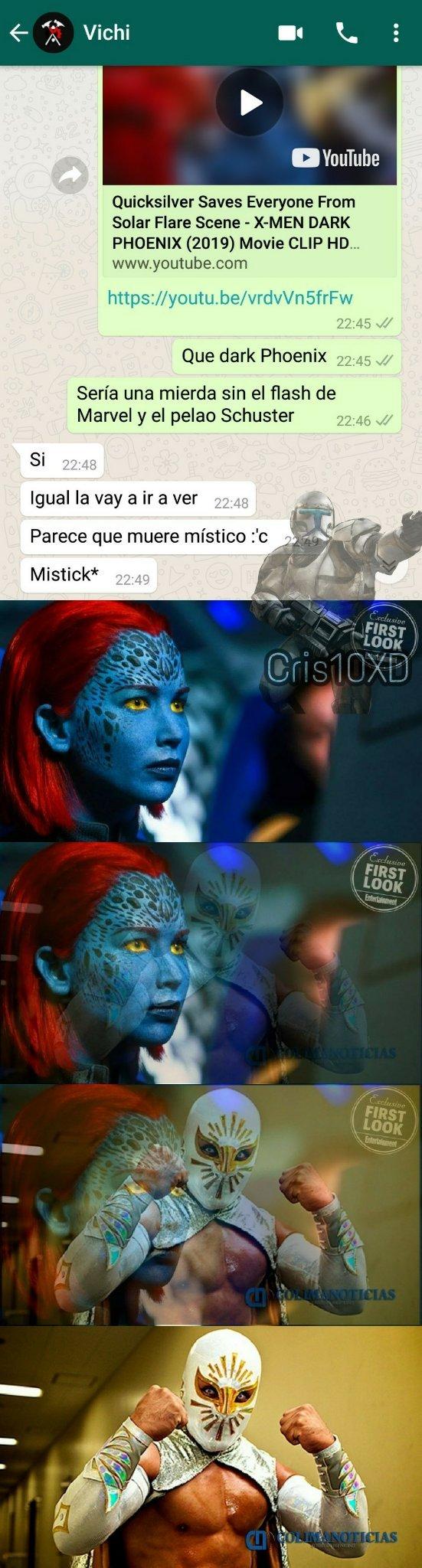 mystique diosa :) - meme