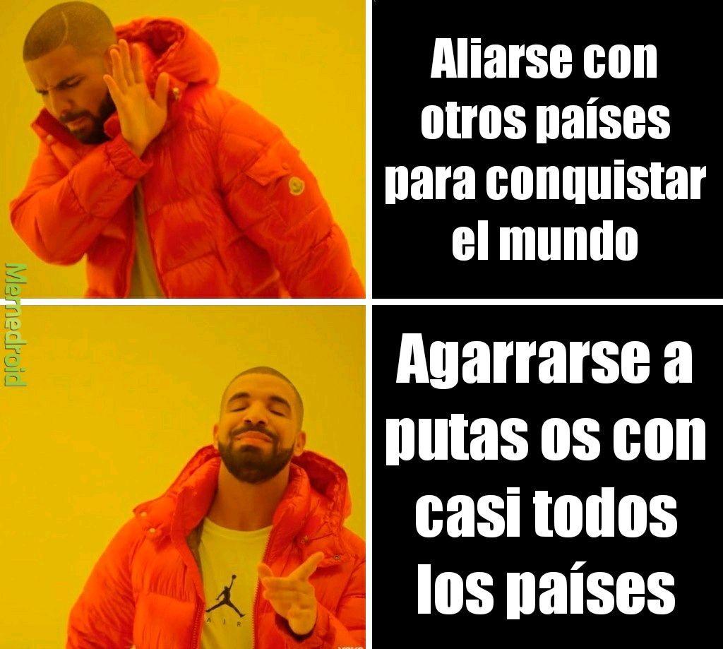 HITLER EN LA SEGUNDA GUERRA MUNDIAL - meme
