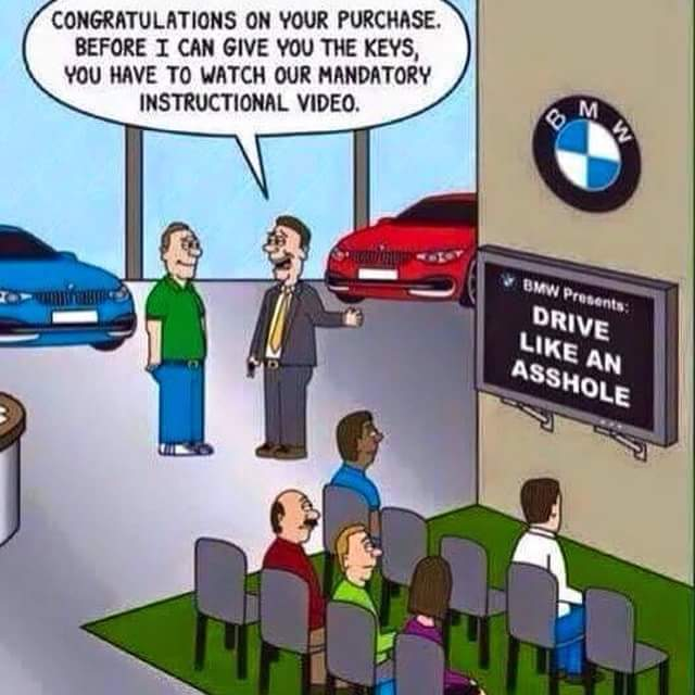 Who else is BMW Bike Curious? - meme