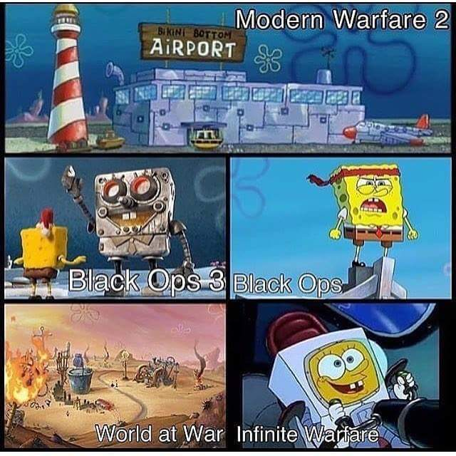 Modern Warfare 2 is the best - meme