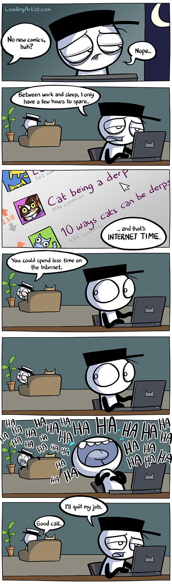 internet time - meme