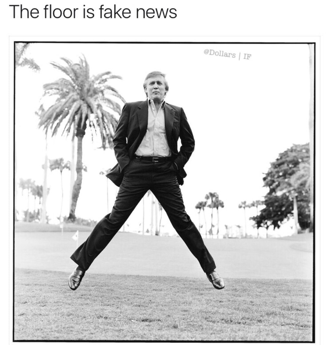 You are fake news - meme
